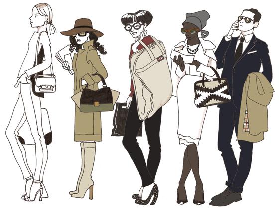 Fashion week parisienne 1 accro de la mode - Dessin parisienne ...